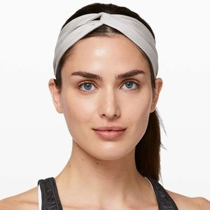 NWT Lululemon All Night Headband-O/S-Silverstone